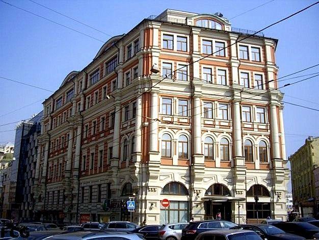 бизнес-центр Мясницкая-PLAZA