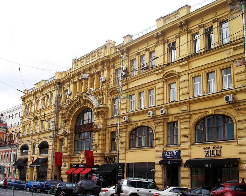 бизнес-центр Кузнецкий Мост 19