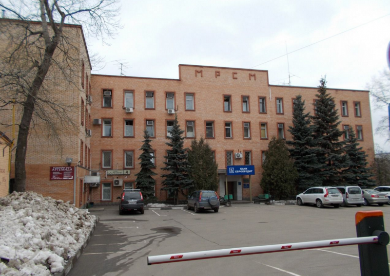 бизнес-центр Атарбекова 4
