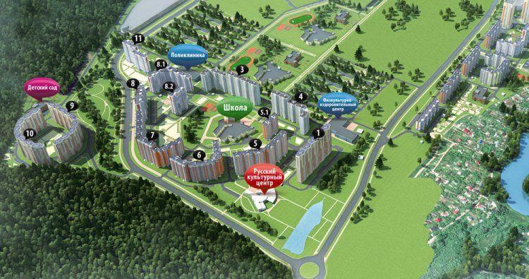 бизнес-центр Бутово Парк