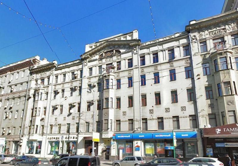 бизнес-центр 1-я Тверская-Ямская 16-23 с1