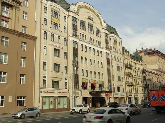 бизнес-центр 1-я Тверская-Ямская ул., 34